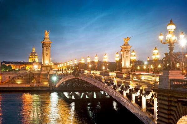 Автобусный тур 4 дня в париже